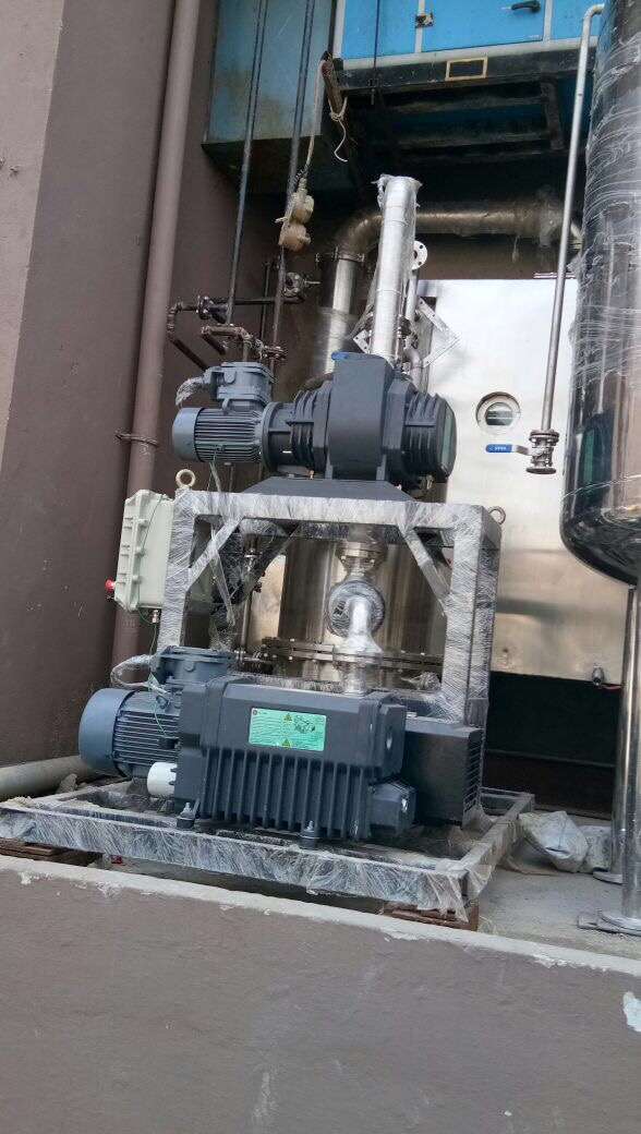 Stanpumps single rotary vac pump system 1